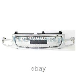 01-06 Yukon Denali Front Grill Grille Assembly Chrome/Silver GM1200510 19130789