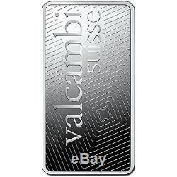 1 Kilo Valcambi Silver Bar Glossy. 999 fine (New with Assay)