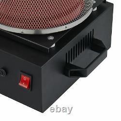 1750W Electric Melting Furnace for Silver Gold Bar Bullion Metal Smelting 6.6lb