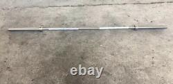 20KG OLYMPIC WEIGHTLIFTING BAR BARBELL 7FT 2 x Collars Included