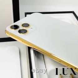 24K iPhone 11 Pro Max 256Gb Gold Plated Unlocked Brand New Custom GSM CDMA