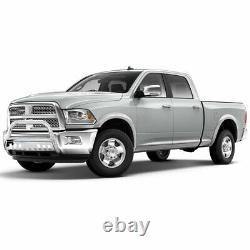 3'' Bull Bar Bumper Guard for 2009-2018 Dodge Ram 1500 Chrome Stainless Steel