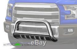3 Chrome Bull Bar for 2007-2018 Chevy Silverado/GMC Sierra 1500 Grille Guard