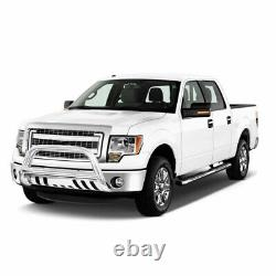 3'' Stainless Steel Bull Bar Bumper Guard for 04-20 Ford F-150/03-17 Expedition