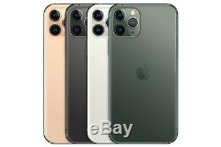 4 New Apple Iphone 11 Max Pro 512gb Space Grey/midnight/gold/silver Unlocked