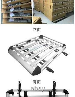 50X 38 Universal Roof Rack Car Top Cargo Luggage Carrier Basket Cross Bar Kit