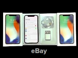 AT&T Apple iPhone X 64GB Silver ATT A1901 GSM EXCELLENT CONDITION Cricket