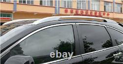 Alloy Top Roof Side Bars Rails Rack Luggage Carrier For Honda CRV CR-V 2012-2021