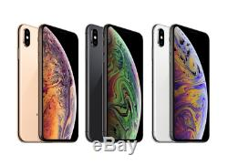 Apple Iphone XS 64256gb Unlocked GSM+CDMA A1920 Space gray gold silver 5.8 OB
