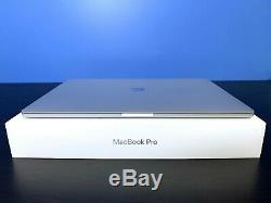 Apple MacBook Pro 15 TOUCH BAR SILVER CORE i7 3.5GHz NEW SCREEN OSX-2019