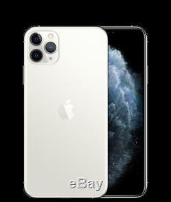 Apple iPhone 11 Pro Max 512GB Silver (Unlocked) A2161 (CDMA GSM) New Sealed