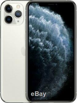 Apple iPhone 11 Pro Silver 256GB Verizon AT&T T-Mobile Fully Unlocked Smartphone
