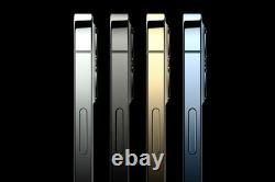 Apple iPhone 12 Pro Max 128/256/512GB Graphite Pacific Blue Silver Gold Unlocked