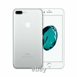 Apple iPhone 7 Plus 128GB Fully Unlocked (GSM+CDMA) AT&T T-Mobile Verizon Silver