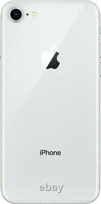 Apple iPhone 8 256GB Silver Factory GSM Unlocked (AT&T / T-Mobile) Smartphone