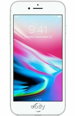 Apple iPhone 8 64GB Silver- Factory Unlocked Verizon / T-Mobile A1863