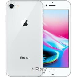Apple iPhone 8 64GB Silver Unlocked Smartphone