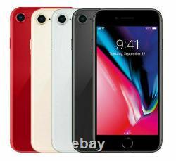 Apple iPhone 8 GSM Factory Unlocked GSM / CDMA 256GB 128GB 64GB