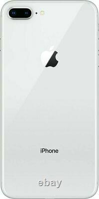 Apple iPhone 8 Plus 64GB Fully Unlocked (GSM+CDMA) AT&T T-Mobile Verizon Silver