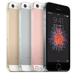 Apple iPhone SE 16/32/64/128GB Factory Unlocked Smartphone Grey Pink Gold Silver