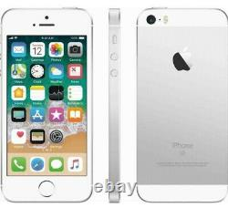 Apple iPhone SE, 16GB Silver Factory Unlocked 1st Gen ATT Tmobile All Prepaid
