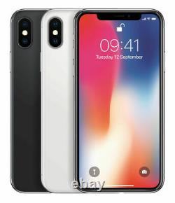 Apple iPhone X 10 64GB 256GB Factory Unlocked Smartphone Gray Silver BRAND NEW