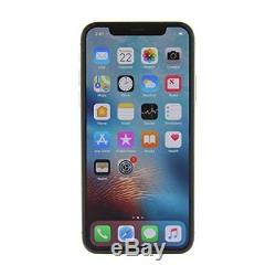 Apple iPhone X 256GB Silver Factory GSM Unlocked AT&T / T-Mobile Smartphone