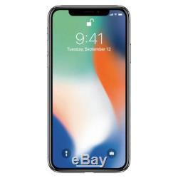 Apple iPhone X 256GB Silver MQCP2LL/A Verizon A1865 CDMA & GSM