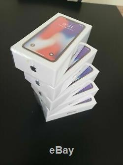 Apple iPhone X 256GB Silver (Unlocked) A1865 (CDMA + GSM)