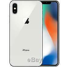Apple iPhone X 256GB Silver (Unlocked) A1901