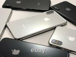 Apple iPhone X 64GB 256GB A1901 A1865 Gray AT&T T-Mobile Sprint Verizon Unlocked
