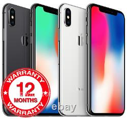 Apple iPhone X 64GB 256GB Factory Unlocked New And Sealed in Original Box