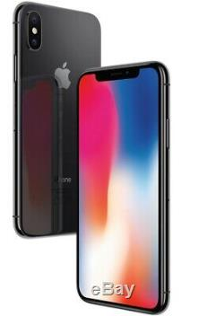 Apple iPhone X 64GB 256GB GSM Factory Unlocked Smartphone Cell Phone Grey Silver