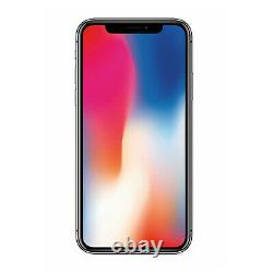 Apple iPhone X 64GB 256GB Unlocked Smartphone Sim Free Silver / Space Grey