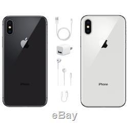 Apple iPhone X 64GB GSM & CDMA Unlocked -USA Model -Apple Warranty -Brand New