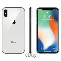 Apple iPhone X Unlocked Smartphone 64GB 256GB Verizon T-Mobile AT&T GSM CDMA