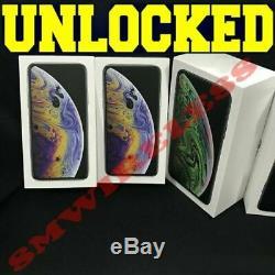 Apple iPhone XS 64GB 256GB512GB (UNLOCKED) SPACE GRAY SILVERGOLD SEALED