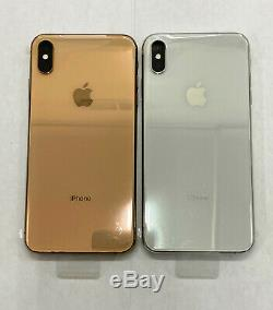 Apple iPhone XS Max 64GB Gray/Gold/Silver (White) Unlocked AT&T T-MOBILE VERIZON