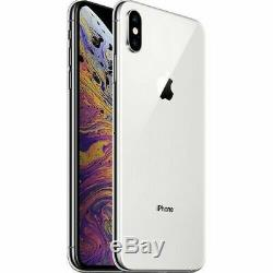 Apple iPhone XS Max 64GB Silver (AT&T) A1921 (CDMA + GSM)