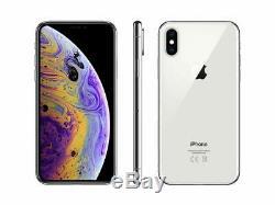 Apple iPhone XS Max A1921 512GB Silver Fully Unlocked (GSM + CDMA) Smartphone