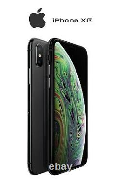 As New Apple iPhone XS 64GB 256GB 512GB Space Grey Gold Silver -A2097- AU Stock