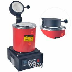 Automatic Melting Furnace Melt 2kg Silver & Gold Pour Bar Digital Controller