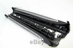 BMW X5 F15 2014-On Abs Side Steps Bars Running Boards Black Silver Accessories
