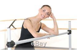 Ballet Barre BD96 Portable 8ft DOUBLE Bar Stretch/Dance Bar Vita Vibe NEW