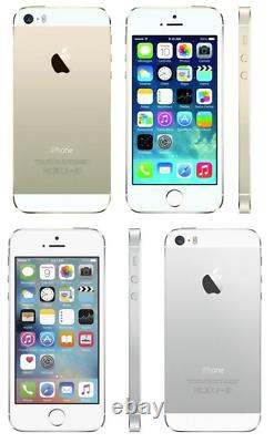 Boost Mobile Apple iPhone 5s 16GB Silver + FREE SIM-CARD NEW & SEALED