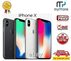 Brand New Apple iPhone X 64GB/256GB Space Grey/Silver AUS Seller Free Exp