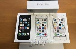 Brand New Boost Mobile Apple iPhone 5s 16GB Sealed Gray Silver Gold