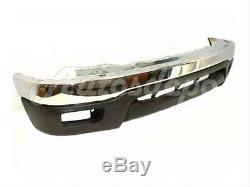 Bundle For 2001-2004 Tacoma 4Wd Prerunner Front Bumper Chrome Face Bar Valance 2