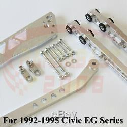 Bwr Control Arm Subframe Brace Tie Bar Kit For 92 93 94 95 Honda CIVIC Eg Lca Sl