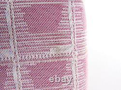 CHANEL New Travel Line Chocolate Bar Chain Shoulder Bag Nylon Pink A15285 V-3777